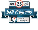 Top 25 best value BSN Programs