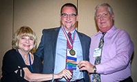 Drs. Diane Snow, Stephen Strobbe and Bill Lorman