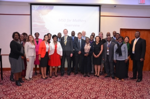Merck for Mothers kick-off event in Zambia