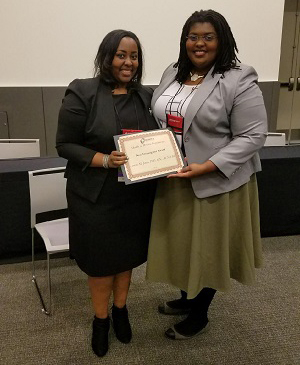 Jones received the New Investigator Award from the Midwest Nursing Research Society in 2018