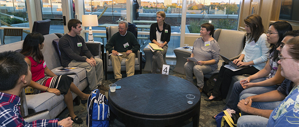 Pardee participates in IPE townhalls with faculty and students from U-M health science schools