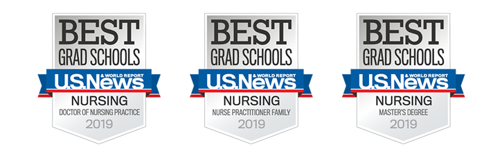 2019 U.S. News and World Report badges earned by UMSN