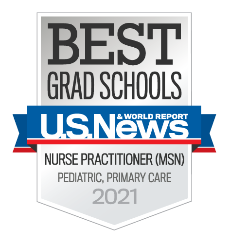 Best Grad Schools, US News, Nurse Practitioner Pediatric Primary Care (MSN) 2021