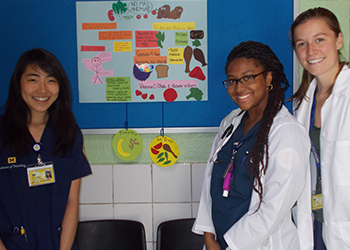 UMSN undergraduate students in Mexico