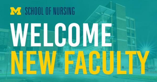 Faculty welcome graphic