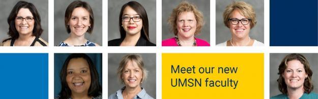 Fall 2018 new UMSN faculty