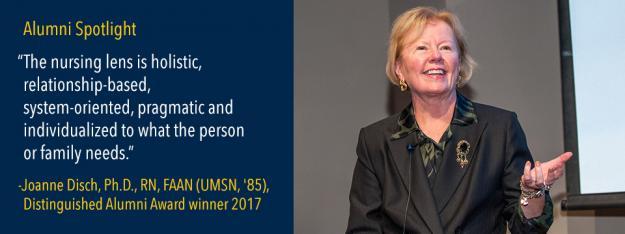 Distinguished Alumni Award winner Joann Disch