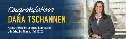 Welcome Dana Tschannen