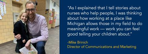 Mike Brinich Quote and image