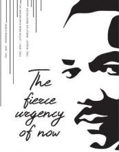 Dr. Martin Luther King Jr Symposium. The fierce urgency of now.